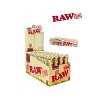 RAW ORG CONE 3PK  RAW ORGANIC Natural Unrefined Hemp Pre-Rolled Cones King Size